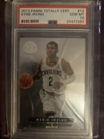 2012 Panini Totally Certified #12 Kyrie Irving PSA 10 Gem Mint RC Perfect Cond