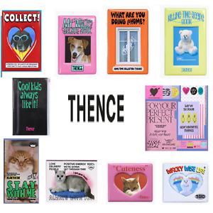 Thence Stationery Note Pouch Book Album Collect Pen Diary Paper Campus Concept