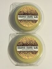 NEW 2 BATH BODY WORKS CINNAMON CARAMEL SWIRL WARMER WAX FRAGRANCE MELTS TART .97