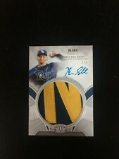 2021 Topps Tier One, BLAKE SNELL, JUMBO PATCH/AUTO. #1/1, TAMPA BAY RAYS