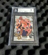 1992-93 Fleer Total D #5 Michael Jordan BGS 8 NM-MT (9, 8.5, 8.5, 7.5 subgrades)