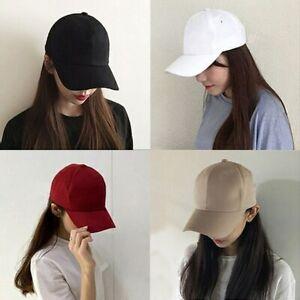 Fashion Soild Adjustable Baseball Cap Men Adhesion Hats Hip Women Hop Hat Gifts