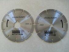 DualSaw Stone Cut Diamond Blades CS650 - New & Sealed