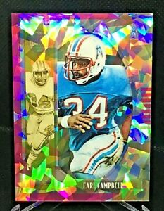 2019 Panini Legacy Football #101 Earl Campbell Pink Cracked Ice SP/10 (MINT)