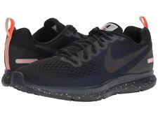 72b317ce54c2 Nike Air Zoom Pegasus 34 Shield Water Repel Black Blue Men Running  907327-001 11.5