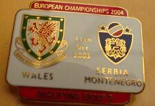 WALES v SERBIA MONTENEGRO EUROPEAN CHAMPIONSHIP  QUALIFYING GROUP 9 11-10-03