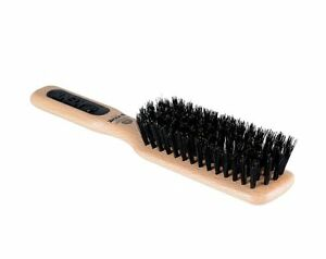 Kent Natural Shine Unisex Narrow Grooming Pure Bristle Brush