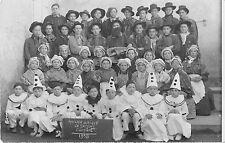 CPA 63 COURPIERE CARTE PHOTO AMICALE LAIQUE DE GARCONS 1938