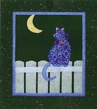 "Moon Cat Quilt Pattern by Melanie Formway Chang ""Kitty Capers"""