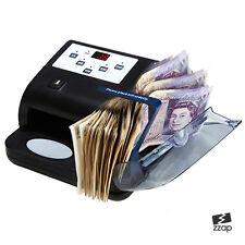 Banconote Note Valuta Contatore Count Rilevatore Soldi Veloce Banconota Libbra