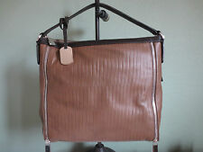 "NWT! FURLA – Amazzone Tote Bag – Taupe/Coffee (13""x13.5""x3"")"