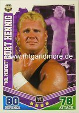 "Slam ATTAX Mayhem #175 ""mr. perfect"" Curt Henning"