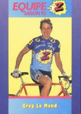 GREG LEMOND Cyclisme Cycling Cycliste Team Z PEUGEOT 92 Tour de France winner