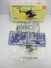MES-42801Minicraft 1645 1:48 Helicopter Hughes 500-D Bausatz geöffnet,
