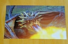 HARRY POTTER POSTCARD ~ HORNTAIL DRAGON - GOBLET OF FIRE ~ NEW