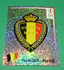 N°550 BADGE BELGIQUE BELGIË PANINI FOOTBALL JAPAN KOREA 2002 COUPE MONDE FIFA
