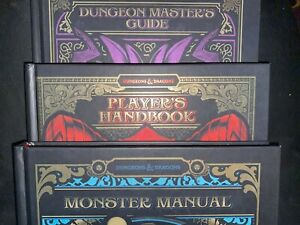 Dungeons & Dragons RPG: Core Rulebook Gift Set-Monster Manual, Players Handbook,