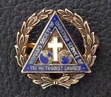USA OLD LAPEL PIN WOMAN´S SOCIETY OF CHRISTIAN SERVICE OF THE METHODIST CHURCH