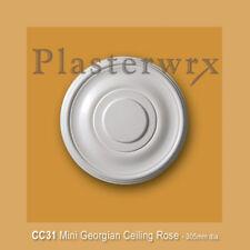 Small Plain Plaster Ceiling Rose CC31 - seconds quality
