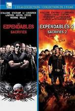 The Expendables/The Expendables 2 (DVD, 2013, 2-Disc Set, Canadian) Brand New