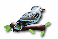 Kookaburra Large Metal Wall Art Plaque Rustic Indoor Outdoor Garden Decor 54cm