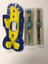 BEATLES SWATCH WATCH COLLECTION YELLOW SUBMARINE & YOKO ONO IN PACKING FREE S/H