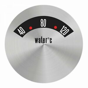American Retro Rodder Series Water Temp Face