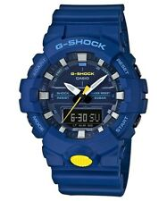Casio G-Shock Blue/Yellow Analogue/Digital Sneaker Series Watch GA800SC-2A GA-80
