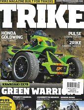 Trike Magazine Kawasaki Honda Goldwing Pulse Fighter 2Rike Yamaha Tadpole Hearse