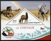 Madagascar Stamps 2019 MNH Horses Icelandic Horse Wild Farm Animals 1v S/S II