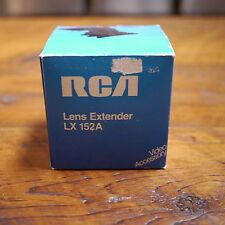 NEW Vintage RCA Made in Japan Lens Extender LX152A  Teleconverter Lens 1.x