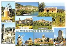 B50176 Languedoc Herault moulin a vent wind mill multi vues  france