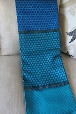 Blue Kota Silk sari with Zari Border