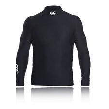 Abbiglimento sportivo da uomo neri manica lunghi marca Canterbury