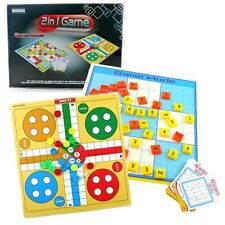 2 In 1 Ludo + Sudoku Family Party Board Travel Children Game Mode Education Toy