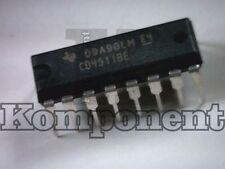 CD 4511 CD4511BE decoder driver per display a 7 segmenti