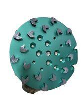 10 Concrete Grinding Head For Edco Blastrac Grinders 20 Seg Arrow 1618 Mediu