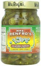 Mrs. Renfro's Nacho Sliced Jalapeno Peppers 16 oz