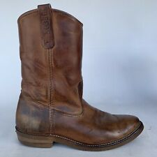 Men's RED WING Style  #1155 PECOS Work Pull On Western Boots size 10.5D