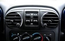 D Chrysler PT Cruiser Chrom Rahmen für Lüftung Mitte - Edelstahl poliert