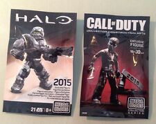 SDCC 2015 Exclusive Megablocks HALO And CALL oF DUTY Promotional Very Rare Excl.