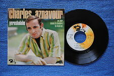 CHARLES AZNAVOUR / EP BARCLAY 71203 / VERSO 1  LABEL 1 / BIEM 1967 ( F )