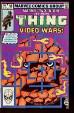 MARVEL TWO-IN-ONE #98 VERY FINE (1974 1ST SERIES) VIDEO WARS bin-2017-3805