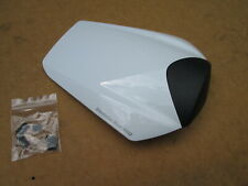 GENUINE HONDA CBR 1000RR HRC FLAT WHITE SINGLE SEAT COWL,COVER!