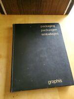 Packaging, 1959 Walter Herdeg, Graphis, Hardcover 1st Ed