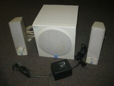 Yamaha YST - MS201 Powered Multimedia Speakers with Adapter