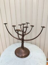 Vintage kandelaar chandelier design Egidio Casagrande Italy 🇮🇹 Copper