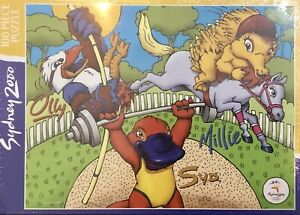 SYDNEY 2000 Mattel Jigsaw Puzzle 100 Piece Olympic Mascots Olly, Syd and Millie