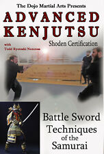 Advanced Kenjutsu Sword Fighting Katana Samurai Dvd