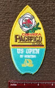 """PACIFICO US OPEN SURFING PATCH Jeff Spicoli """"Danger is my business!"""" PATCH"""